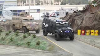 IDEX 2017 International Defense Exhibition Abu Dhabi UAE security military army products Day 3