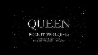 Watch music video: Queen - Rock It (Prime Jive)