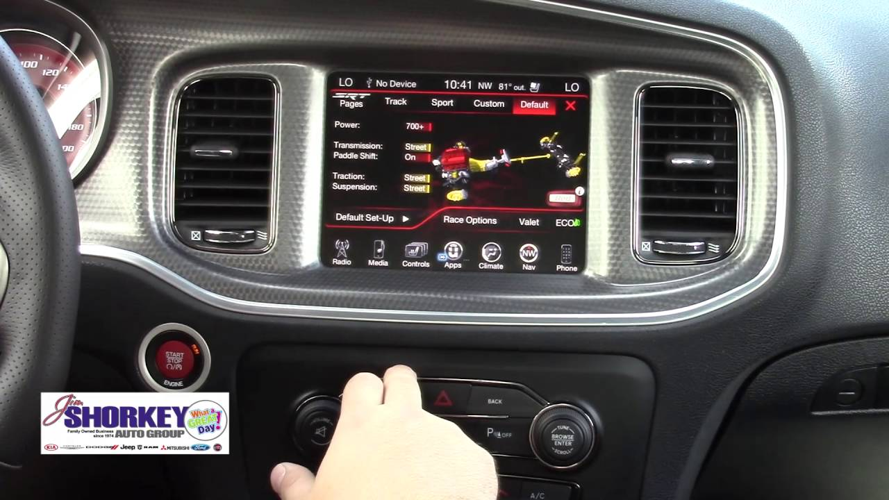 2016 Dodge Ram >> 2016 Hellcat Dodge Charger Performance Screen - YouTube
