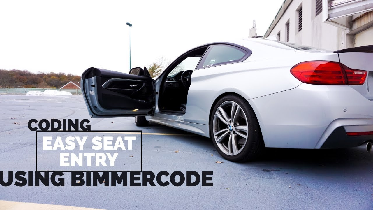 Coding Easy Seat Entry With BIMMERCODE