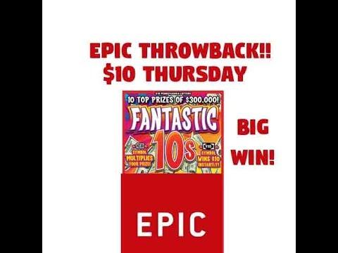 HUGE WIN - Throwback $10 Thursday Fantastic 10