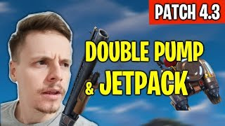 ADEUS DOUBLE PUMP E JETPACK! - FORTNITE NEWS PATCH 4.3