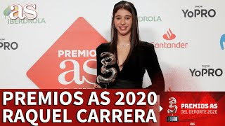 Premios AS 2020 | Raquel Carrera, Premio Promesa | Diario AS