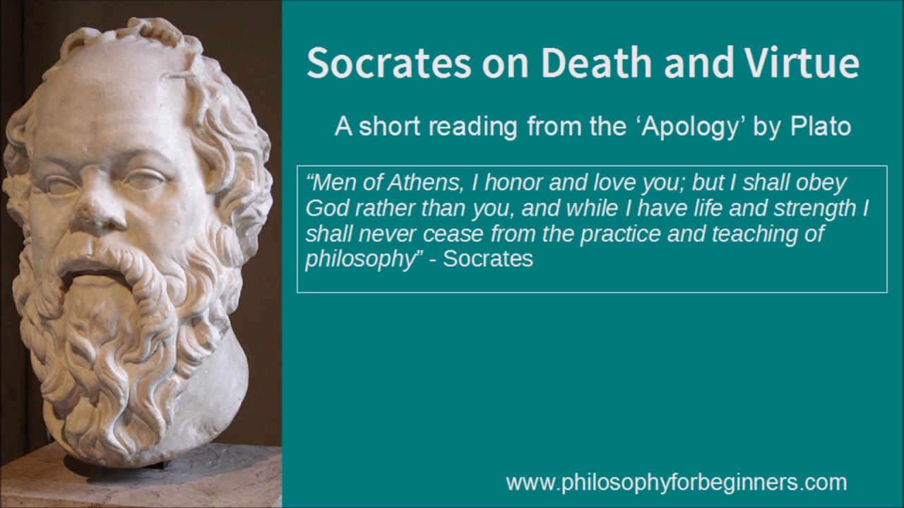 an overview of platos apology a philosophic concept