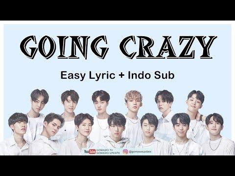 Easy Lyric TREASURE 13 - GOING CRAZY by GOMAWO [Indo Sub]