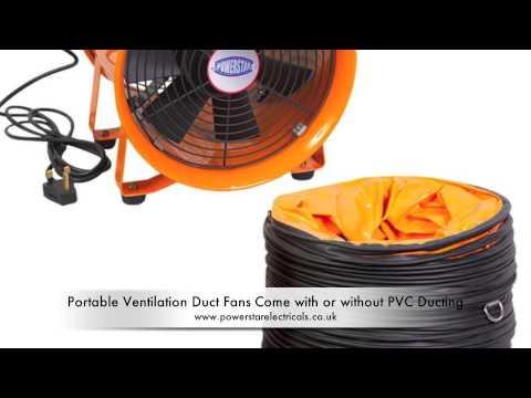 Portable Ventilation Fans and Exhaust Fans