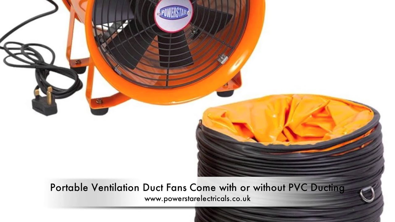 Portable Ventilation Fans and Exhaust Fans - YouTube