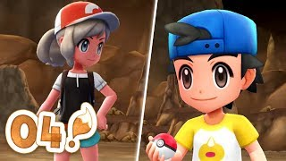 Pokémon Let's Go Eevee Let's Play -  Part 04 | MT.MOON THE MOON STONE