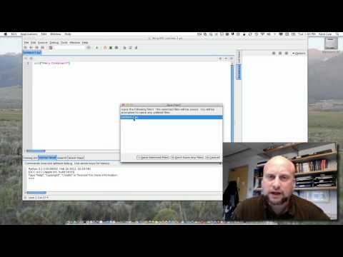 1-1: Creating a Python Program in Wing IDE 101 - YouTube