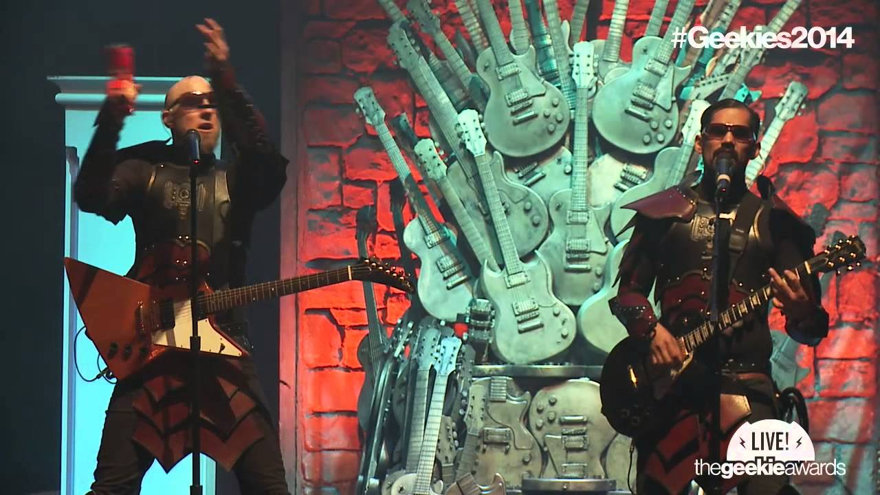 The 2014 Geekie Awards: Songhammer live performance