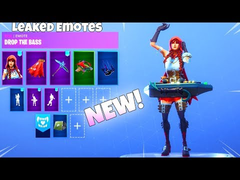 ALL New! LEAKED DANCE EMOTES! Fortnite Battle Royale