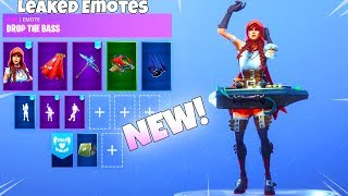 ALL New! LEAKED DANCE EMOTES! Fortnite Battle Royale