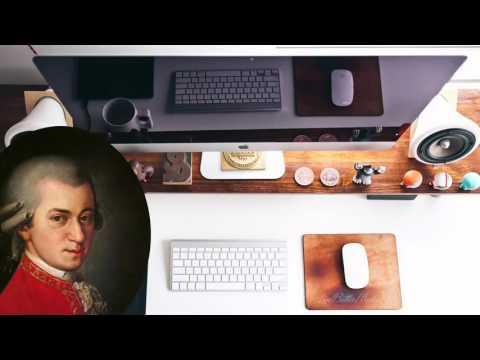 Musique Classique Pour Travailler Et Se Concentrer - Mozart pour travailler et étudier