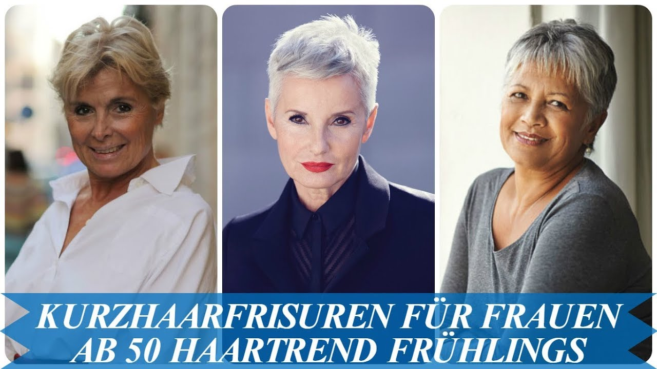 Schone Kurzhaarfrisuren Fur Frauen Ab 50 Haartrend Fruhlings 2018