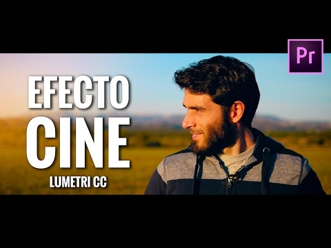 EFECTO CINEMATOGRÁFICO: Gradación de color ESTILO HOLLYWOOD (Lumetri CC)