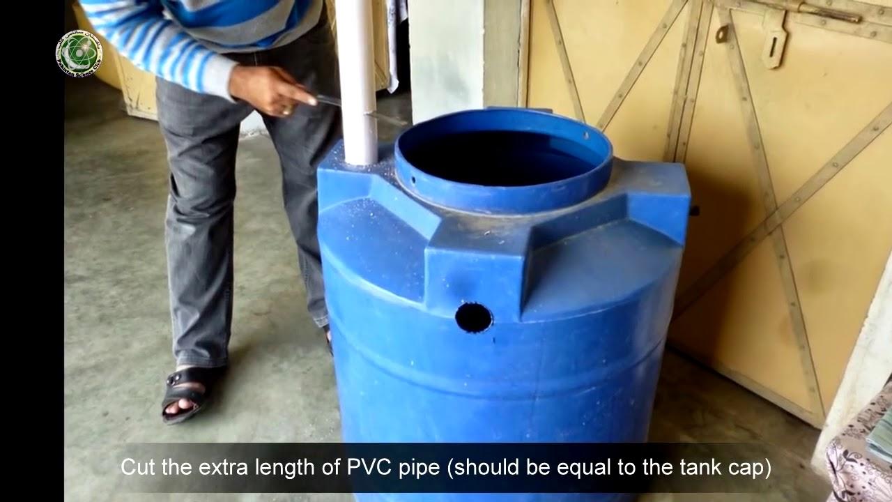 Make Homemade Biogas Digester Plant