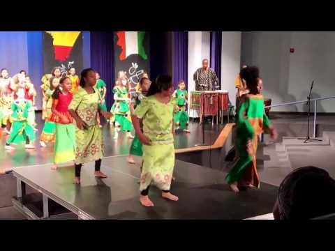 Nana Carmona @ Gilbert Magnet School- West African Dance 2017
