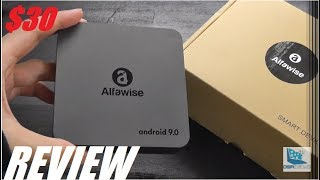 REVIEW: Alfawise A8 Neo, Android 9.0 Smart TV Box ($30)