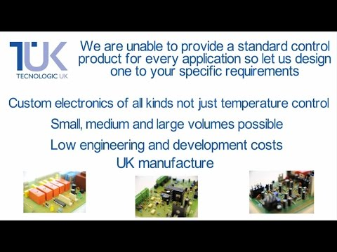 Bespoke Electronics and Custom Controllers