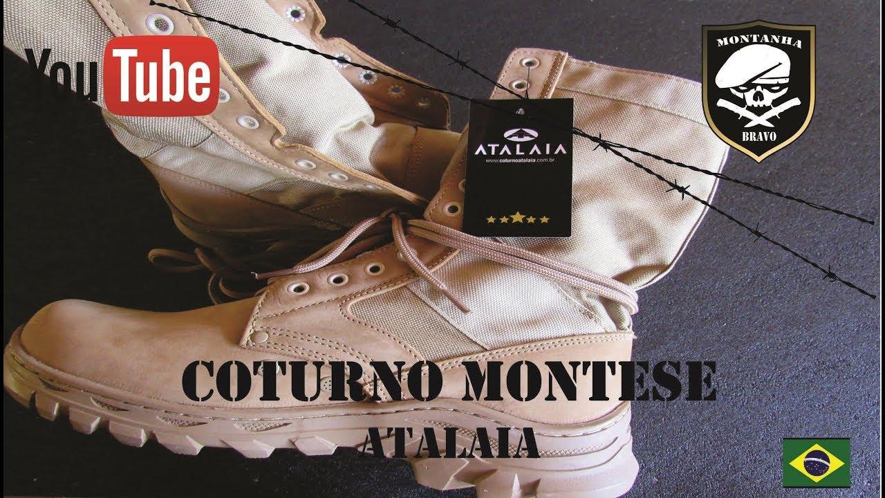 3e1254b0e7 Coturno Atalaia Montese - YouTube
