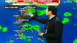 24Oras: Pagasa: Amihan at tail-end ng cold front, magpapaulan sa Luzon ngayong weekend