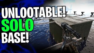UNLOOTABLE SOLO RAFT BASE FOR OFFICIAL PVP! - ARK: Survival Evolved