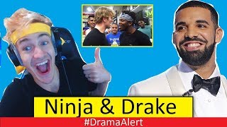 Drake & Ninja (BREAK the INTERNET!) #DramaAlert Logan Paul vs KSI NOT HAPPENING? Bhad Bhabie FREE!