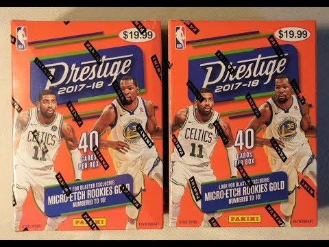 New 2017-2018 Panini Prestige NBA Trading cards. Finally, Lonzo and Kuzma rc.
