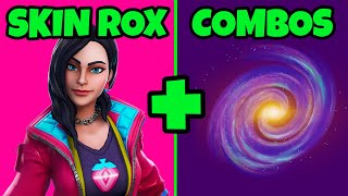 ROX SKIN -TOP 10 BEST SKINS COMBOS FORTNITE SEASON 9 SKINS COMBOS ET BACKPACKS FORTNITE