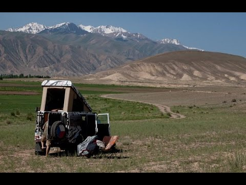 Land rover Defender expedition central Asia 2015 (part 2, Tajikistan, Kyrgyzstan)