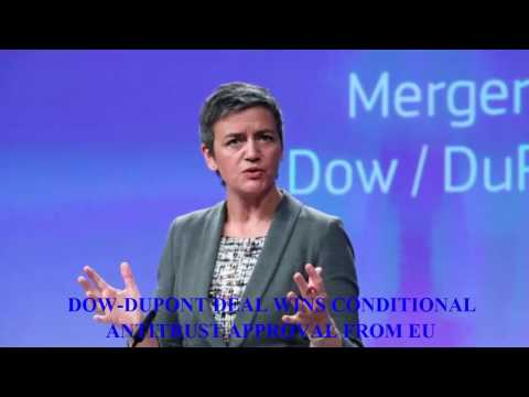 Dow DuPont Deal Wins Conditional Antitrust Approval From EU || RTC Daily News