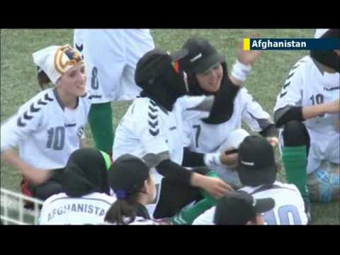 Afghan girls enjoy football league: but when NATO forces depart women's rights will be under threat