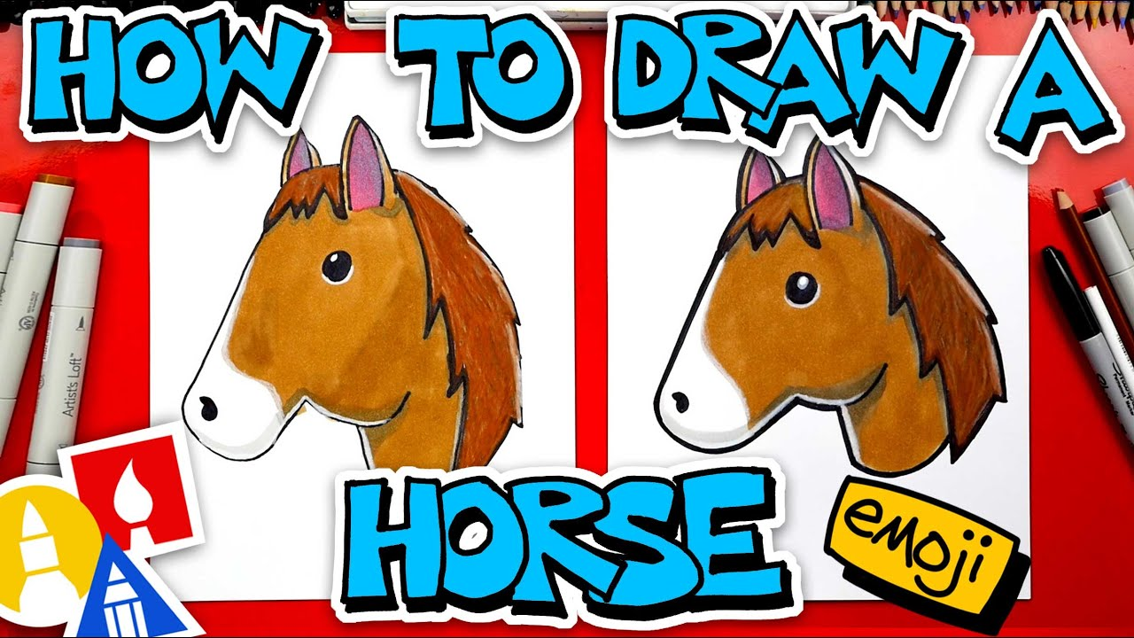 How To Draw A Horse Emoji