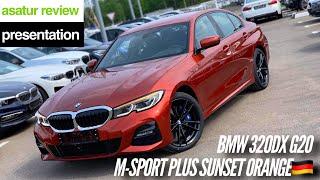 BMW 320d xDrive G20 M-sport Plus Sunset Orange 🇩🇪