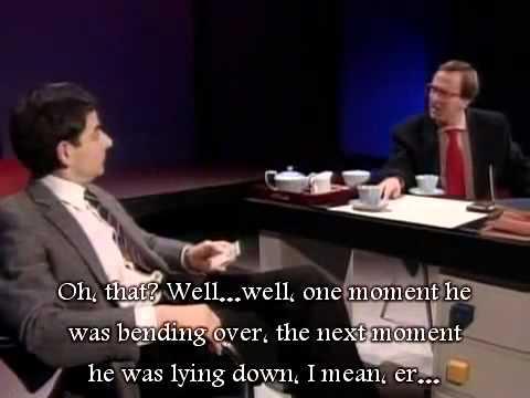 Rowan Atkinson - Fatal beatings - Học tiếng Anh qua phim có phụ đề tiếng Anh và tiếng Việt