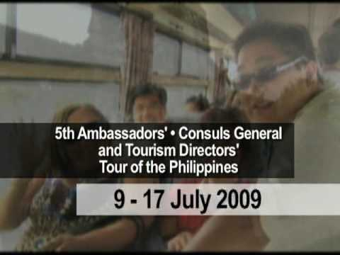 5th Ambassadors Consuls General and Tourism Directors Tour of the Philippines