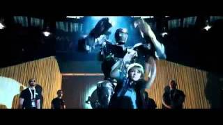 Real Steel Cool Dance , Dancing  Robot Atom with Max (Dakota Goyo) & Hugh Jackman
