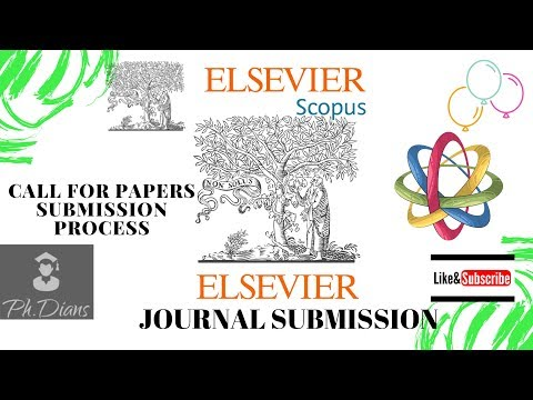How to submit research articles to Elsevier journals #Elsevier #submission tutorials