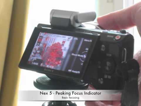 sony nex 5 focus peaking indicator youtube rh youtube com sony nex 5 manual focus sony nex 5 manual focus tutorial