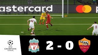 Liverpool vs Roma All Goals & Extended Highlights 1080p HD | UEFA CL | PES 2018