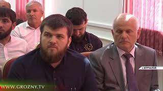 В Курчалоевском районе Чечни продолжаются масштабные строительные работы