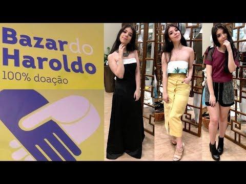 BAZAR BENEFICENTE EM NITERÓI - BAZAR DO HAROLDO - DRESS TO, SHOE HOUSE | Helena Lins