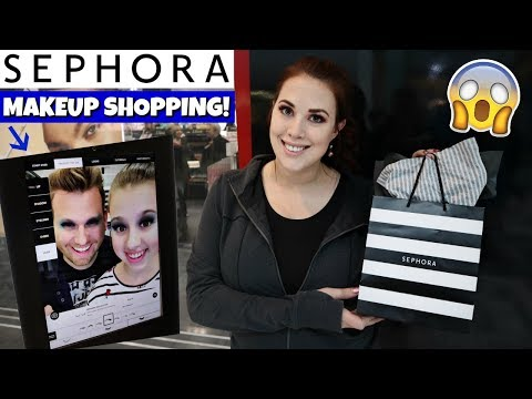 Makeup Shopping Trip At Sephora + First Time Getting A Virtual Makeover! thumbnail