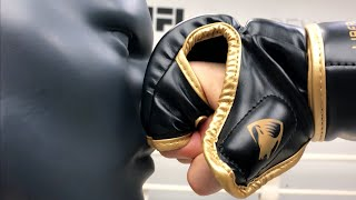 Liberlupus MMA gloves (REVIEW) and why cage fighters wear boxing gloves for heavy bag work