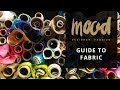 Mood Fabrics 319048 Black Abstract Burnout Velvet with Metallic Gold Stripes