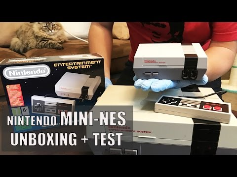 NINTENDO MINI NES : Unboxing + Test de la Console !