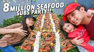 Baixar 8 MILLION SUBS SEAFOOD PARTY!! (Boodle Fight) | Ranz and Niana