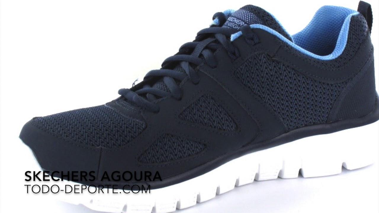 74a1709bc06 Skechers Agoura - Zapatillas Running Hombre Skechers