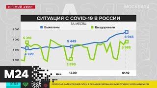 Москва 24 рассказала о ситуации с COVID-19 в России и мире - Москва 24