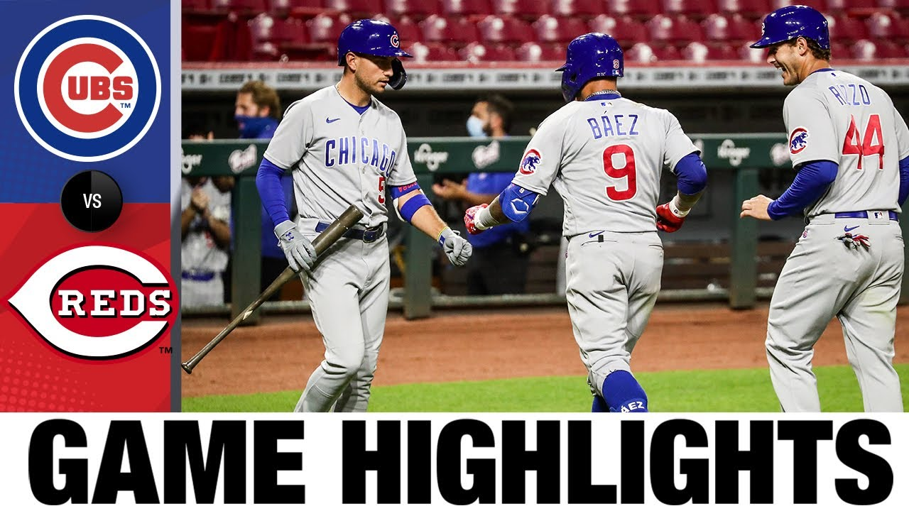 Javier Báez homers twice in 8-5 win | Cubs-Reds Game Highlights 7/28/20